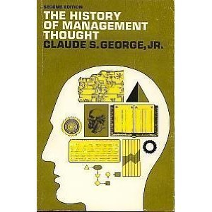9780203145609: The history of management thought.