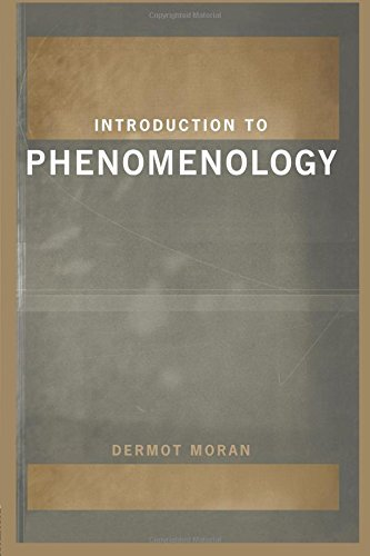 9780203264454: Introduction to Phenomenology by Moran, Dermot (1999) Paperback