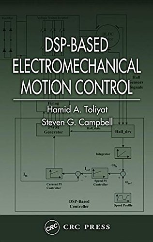 9780203486337: DSP-Based Electromechanical Motion Control (Power Electronics and Applications Series) 1st edition by Toliyat, Hamid A.; Campbell, Steven G. published by CRC Press [ Hardcover ]