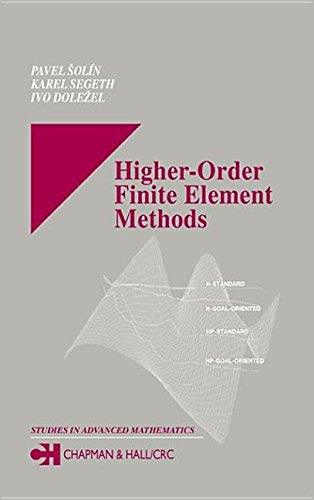 9780203488041: Higher-Order Finite Element Methods. Chapman and Hall/CRC. 2003.