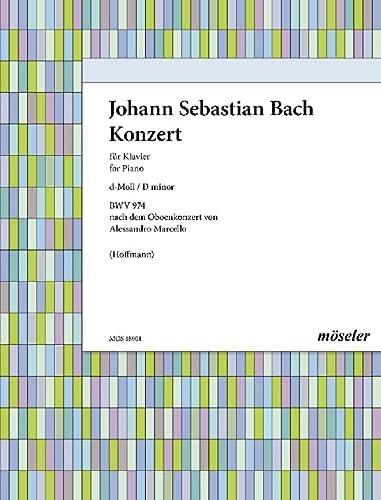 9780203701102: Partitions classique MOSELER BACH J. S. - KONZERT D-MOLL (BWV 974) - PIANO Piano
