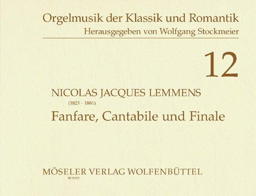9780203704127: Fanfare, Cantabile und Finale: Orgel.