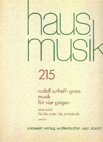 9780203732151: Musik für vier Geigen (Eine Suite für die Unter- bis Mittelstufe)