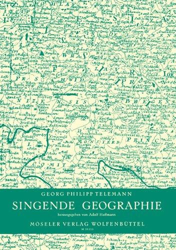 9780203753194: Singende Geographie TWV 25:1 (36 Lieder für Singstimme und Generalbass zu dem gleichnamigen Handbuch des Johann Christoph Losius, Hildesheim 1708)
