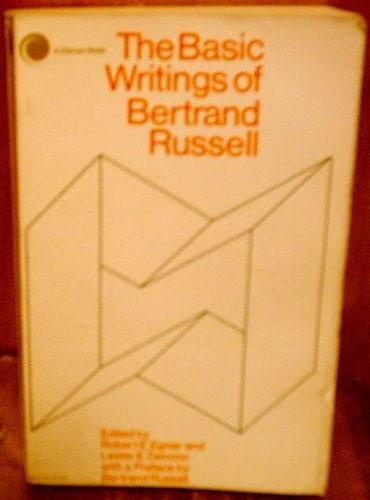 9780203875391: The Basic Writings of Bertrand Russell