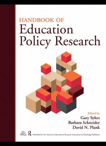 9780203880968: Handbook of Education Policy Research