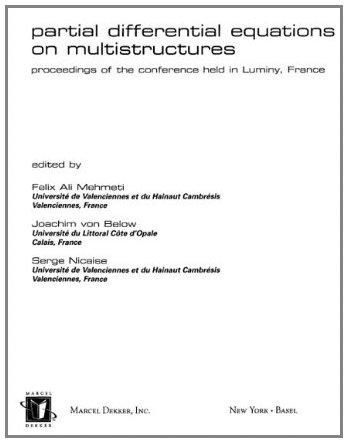 9780203902196: Partial Differential Equations On Multistructures