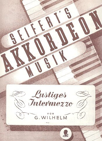 9780203904411: Lustiges Intermezzo