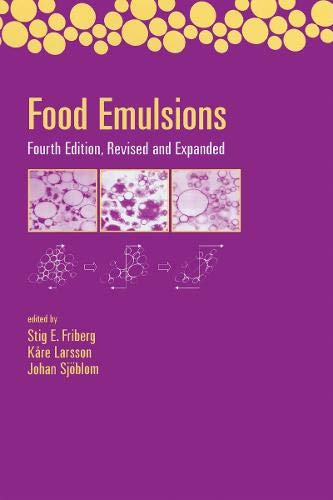 9780203913222: Food Emulsions: Fourth Edition Revised and Expanded