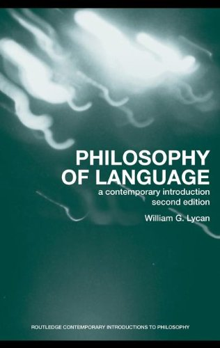 9780203930007: Philosophy of Language: A Contemporary Introduction