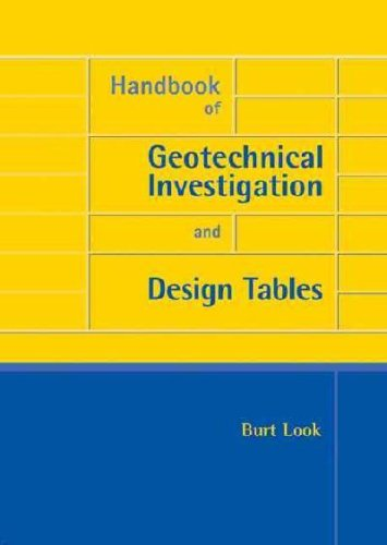 9780203946602: Handbook of Geotechnical Investigation and Design Tables