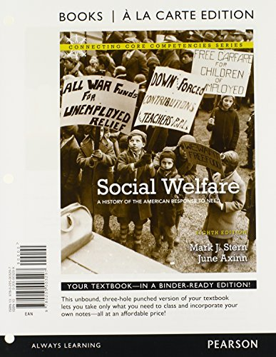 9780205003297: Social Welfare: A History of the American Response to Need, Books a la Carte Edition (8th Edition)