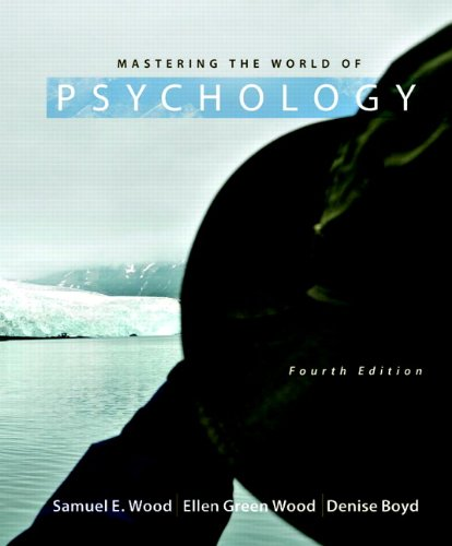 9780205003310: Mastering the World of Psychology (4th Edition)