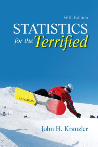 9780205004065: Statistics for the Terrified (5th Edition)