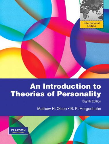 9780205004539: An Introduction to Theories of Personality