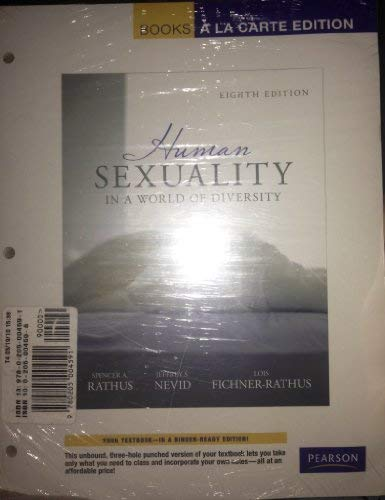 9780205004591: Human Sexuality in a World of Diversity (case), Books a la Carte Plus MyPsychKit -- Access Card Package (8th Edition)