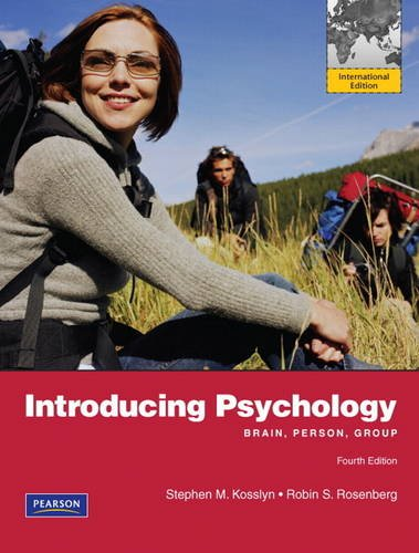 9780205005680: Introducing Psychology: Brain, Person, Group: International Edition