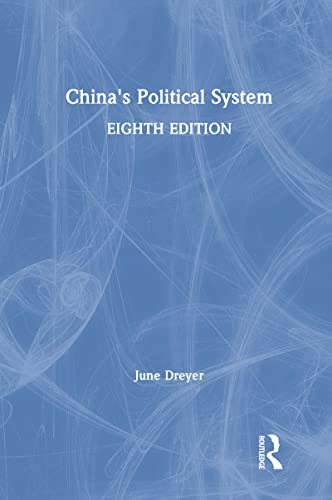 9780205005819: China's Political System (8th Edition)