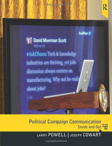 9780205006090: Political Campaign Communication: Inside and Out