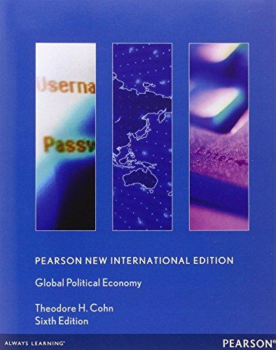 9780205006229: Global Political Economy. Theodore H. Cohn 9780205006229