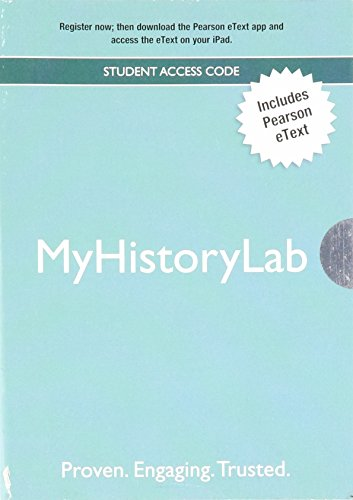 9780205008650: The World's History: Volume 1 with MyHistoryLab and Pearson eText (4th Edition)