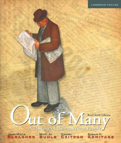 9780205010646: Out of Many: A History of the American People, Brief Edition, Combined Volume (6th Edition)