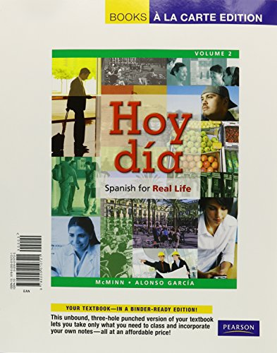 9780205010721: Hoy día: Spanish for Real Life, Volume 2, Books a la Carte Edition