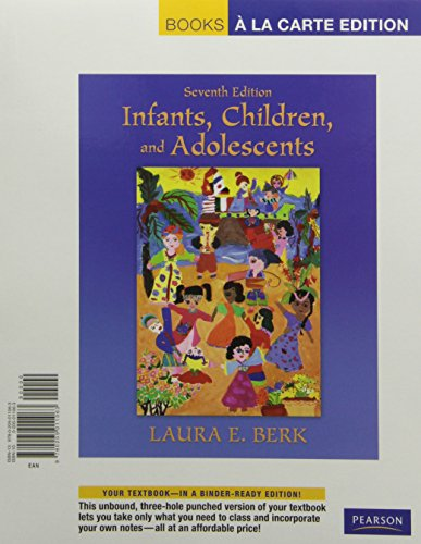 9780205011070: Infants, Children, and Adolescents, Books a la Carte Plus MyDevelopmentLab with eText -- Access Card Package (7th Edition)