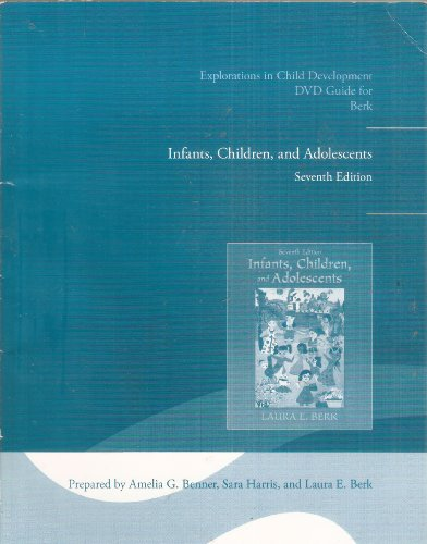 9780205011155: Explorations in Child Development DVD Guide for Infants, Children, and Adolescents