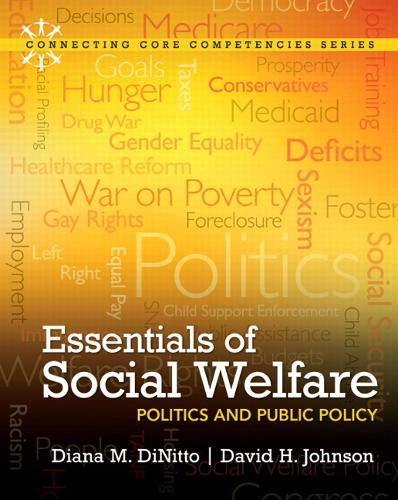 9780205011612: Essentials of Social Welfare: Politics and Public Policy (Connecting Core Competencies)