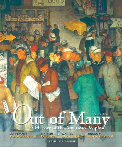 9780205011926: Out of Many: A History of the American People, Combined Volume (7th Edition)