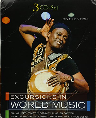 9780205012886: Student CD for Excursions in World Music