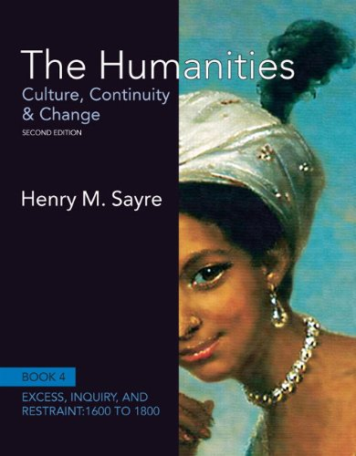 9780205013333: The Humanities: Culture, Continuity and Change, Book 4: 1600 to 1800 (2nd Edition) (Humanities: Culture, Continuity & Change)