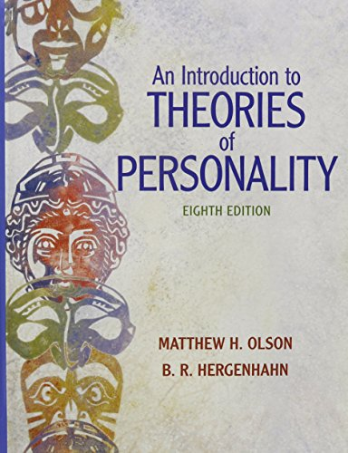 Introduction to Theories of Personality, An with MyPsychKit (8th Edition): Olson, Matthew H.; ...