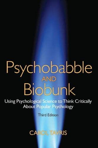 9780205015917: Psychobabble and Biobunk: Using Psychological Science to Think Critically About Popular Psychology