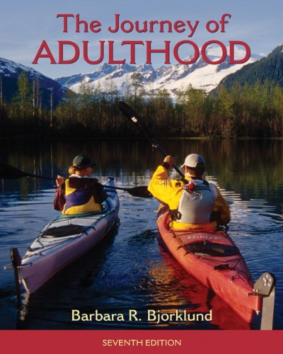 9780205018055: The Journey of Adulthood, 7th Edition