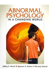 9780205018178: Abnormal Psychology in a Changing World with MyPsychLab and Pearson eText (8th Edition)