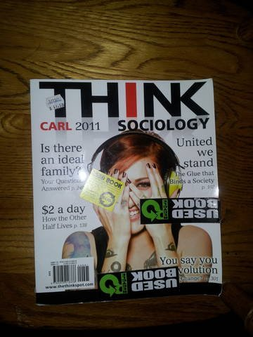 9780205018338: Think Sociology