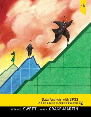 9780205019670: Data Analysis with SPSS: A First Course in Applied Statistics (4th Edition)