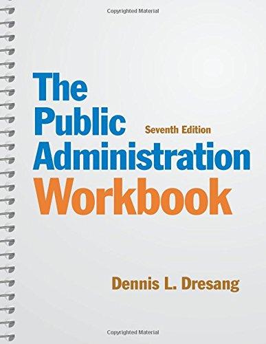 9780205019960: Public Administration Workbook