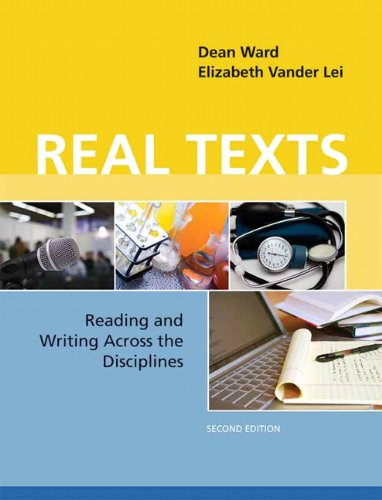 9780205020690: Real Texts: Reading and Writing Across the Disciplines (2nd Edition)