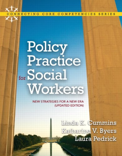 9780205022441: Policy Practice for Social Workers: New Strategies for a New Era (Updated Edition) (Connecting Core Competencies)