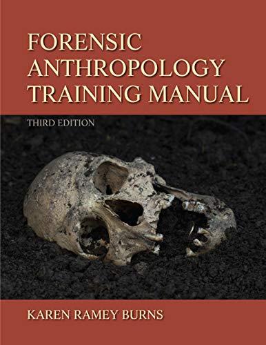 9780205022595: Forensic Anthropology Training Manual