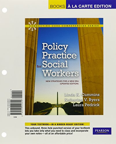 9780205022809: Policy Practice for Social Workers: New Strategies for a New Era (Updated Edition), Books a la Carte Edition