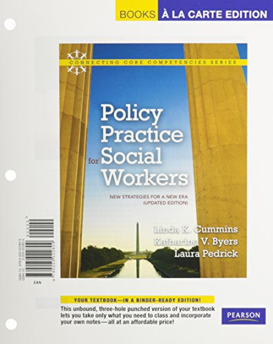 9780205022885: Policy Practice for Social Workers: New Strategies for a New Era (Updated Edition), Books a la Carte Plus MySocialWorkLab -- Access Card Package