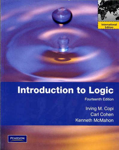 9780205024476: Introduction to Logic: International Edition