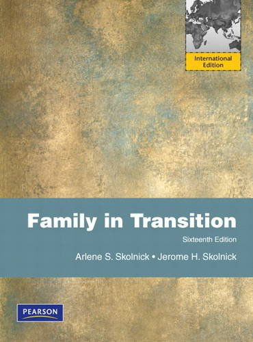 9780205024513: Family in Transition: International Edition