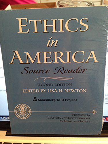 9780205027545: Ethics in America Source Reader