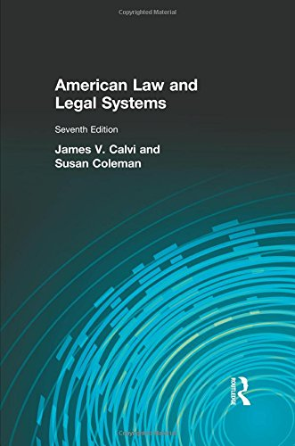 9780205028184: American Law and Legal Systems