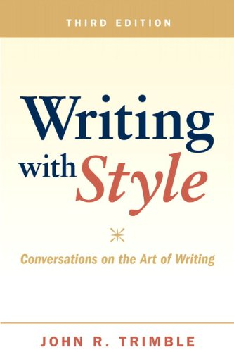 9780205028801: Writing with Style: Conversations on the Art of Writing (3rd Edition)